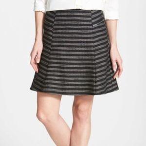 Halogen Zip Detail Skater Skirt Size 8